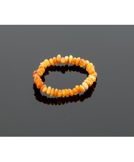 Baby amber bracelet - butterscotch chips