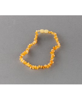 Baby amber necklace -  butterscotch chips