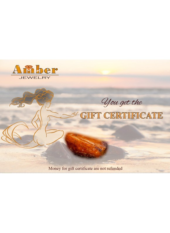 Amber gift certificate