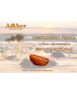 Special Amber gift certificate/Birthday
