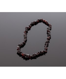 Exclusive cherry amber necklace