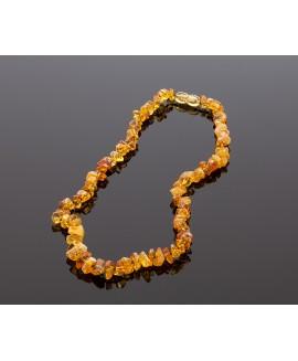 Exclusive honey amber necklace