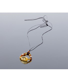 Mother amber necklace