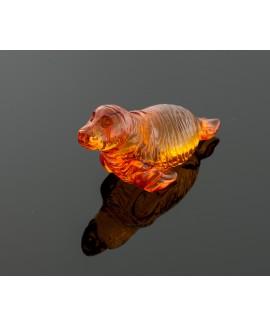 Sculpture - Amber seal