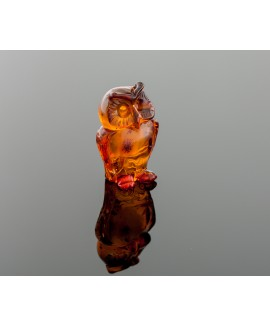 Sculpture - Amber owl