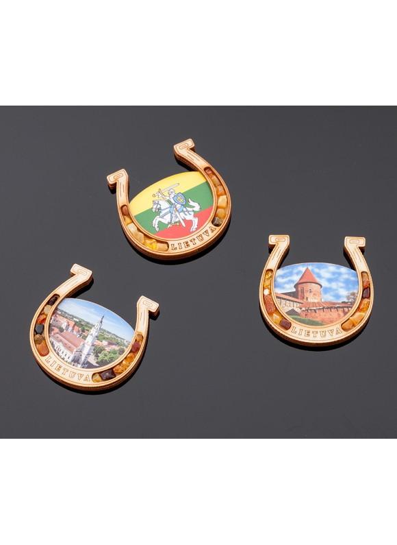 Souvenir magnet (2D Kaunas)