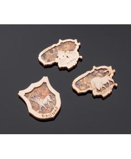 Souvenir magnet (3D Kaunas)