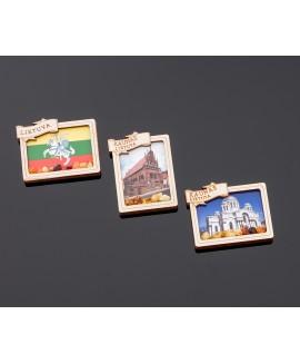 Souvenir magnet (1D Kaunas)