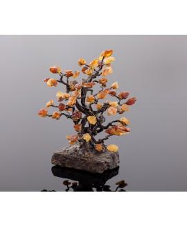 "Amber tree ""Oak"" 23 cm"
