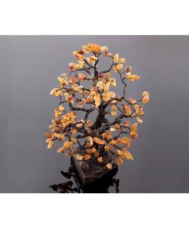 "Amber tree ""Oak"" 40 cm"