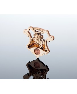 Souvenir magnet (2D Lithuania)